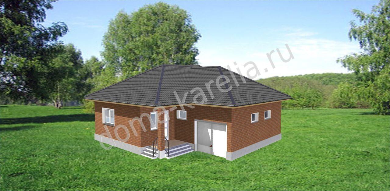 проекты домов стальные двери