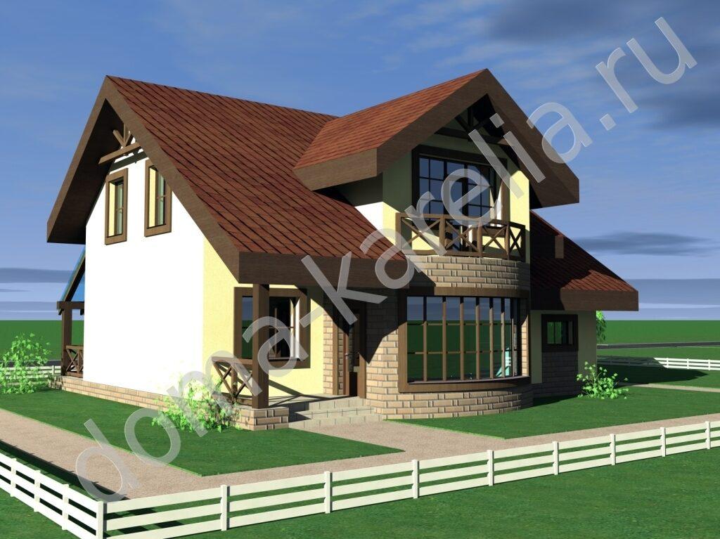 Проект дома из газобетона ВЕСТФАЛИЯ